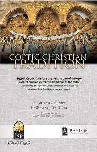 The Coptic Christian Tradition Workshop @ Treasure Room, Armstrong Browning Library, Baylor University