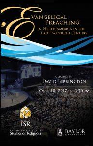 David Bebbington Lecture @ Paul Powell Chapel, Truett Seminary