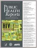 Public Health Reports cover